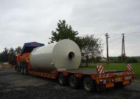 Zateplená jímka pro betonárny
